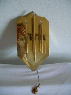 wertvolle Decken - und passende Wandlampe ( Messing, glänzend ) - Wetter (Ruhr)