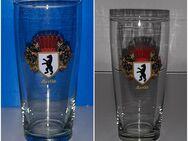 Ost Berlin Stadt Wappen Souvenir Glas DDR mit Bär - Nürnberg