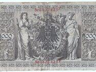 1000 Reichsmark-Schein, Deutsches Reich 1910 - Dresden