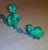 Ü-Eier jeweils nur 2 Figuren Tapsi Törtels 1987, Peppy Pingo Party1994, Sonne Mond Sterne 1994