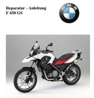 Reparaturanleitung BMW F 650 GS - Bochum Goldhamme