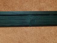 Kunststoff Jalousie 160 cm Länge schwarz 80 cm breit - Verden (Aller)