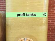 P63 gebrauchter 4.000 L Polyestertank GFK-Tank Wassertank Flüssigfuttertank Molketank Rapsoeltank Lagertank Regenauffangtank AHL-/ ASL-Tank Lagerbehälter