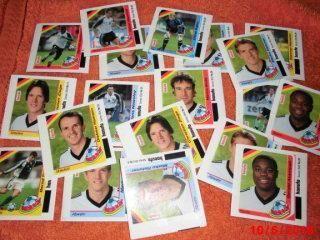 Fussballsammelbilder WM 2002 Hanuta Ferrero - Bottrop