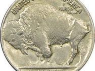 5 Cents 1918 SS, USA, Buffalo Nickel - Reinheim