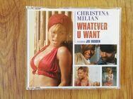 Christina Milian Whatever u want Maxi CD - Freyburg (Unstrut)