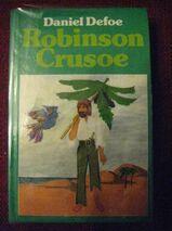 """Spannendes Jugendbuch """"Robinson Crusoe"""" von Daniel Defoe, Karl Müller Verlag, 204 Seiten, zum Schutz für weiteren Gebrauch schon eingebunden, sehr guter Zustand, 4,- €"""