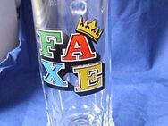 Faxe Bierseidel Bierkrug Glas Bierglas Seidel 0,2 l rastal 2,- - Flensburg