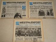 Olympische Spiele 1972, 22 Ausgaben, Westfalenpost, original - Coesfeld