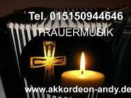 Trauermusik, Beerdigungsmusik mit Akkordeon - Münster