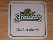 BD Bierdeckel BraustolzDas Bier wie wir - Nürnberg