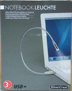 Notebookleuchte USB-Leuchte - Plettenberg