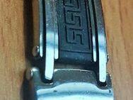"MunkiMix Edelstahl Gummi Kautschuk Armband schwarz griechisch "" NEU "" - Verden (Aller)"