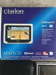 CLARION MAP 670 Navigationsgerät - Wesel