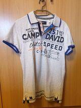 Camp David T-Shirt weiß, Größe S