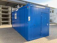 Schwarz-Weiss Container, Schleusencontainer, Hygienecontainer - Flörsheim (Main) Zentrum
