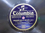 Alte Schellackplatte Columbia, Debroy Somers Band / Somewhere down in Britanny - Zeuthen