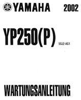 Wartungsanleitung - Yamaha Roller YP 250 Majsty