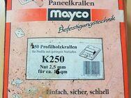Mayco Profilholz-Paneelkrallen K250,Nut 2,5 mm,350St.für ca.16 m² - Verden (Aller)