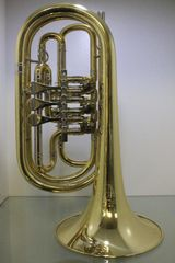 Melton Profiklasse Basstrompete in Bb, Mod. 129 - L, Neuware inkl. Tasche