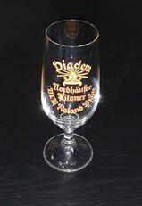 Roland Bräu Nordhausen DDR Bier Glas Tulpe