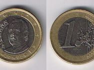 1 Euro Spanien 2002 Kursmünze,Lot 72