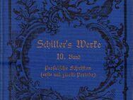 Schillers sämtliche Werke in zwölf Bänden - 10. Band - Prosaische Schriften - Zeuthen