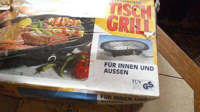 Elektrischer Tischgrill für innen und aussenn - Kassel