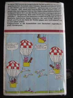 """Spannender Roman """"Die Friedenspfeife ist zerbrochen"""" von Horst Burger in sehr gutem Zustand, 157 Seiten, ISBN: 3499200791, 3,- € - Unterleinleiter"""
