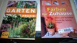 3 Bücher/GU Gartenspass Garten & Praxis/Farben für zu Hause/Gestalten mit Lichterketten