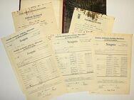 Zeugnismappe, Zensurenmappe, Zeugnisse von Erwin Linke, Mittelschule Berlin-Neukölln von 1926-1937 - Königsbach-Stein
