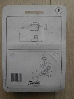 Danfoss Service Thermostat 077B7005 EAN 5702424006624 für Eiscremetruhen und Gefriermöbel neu orignalverpackt 7,- - Flensburg