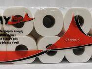 Toilettenpapier 4-lg. Zellstoff, 150 Blatt 10 Rollen - Gelsenkirchen