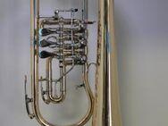 Melton Ideal Konzert Flügelhorn 124T - L. Egerländer Musikantenmodell aus Goldmessing. Neuware