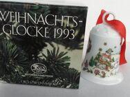 Porzellanglocke Hutschenreuther, Sammelkollektion Weihnachten 1993 - Bremen Zentrum