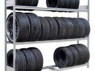 Großfach Reifenregal Räderregal Fachlast 400 kg NEU für Firmen - Wilhelmshaven