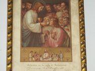 Altes Bild, Andenken an die 1. heilige Kommunion 1928 - Büdelsdorf
