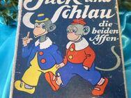 Kinderbuch JUCK UND SCHLAU, die beiden Affen / Verse Onkel Franz, Onkel Haase - Zeuthen