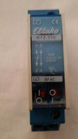 Eltako R12-110 Relais 230V Installationsrelais neu