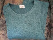 Damen Pullover mit Metallicfäden (Gr. 52/54/XXL) Petrol - Weichs