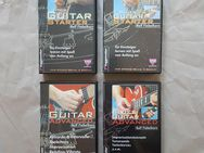 4 VHS Kassetten Rock Guitar Blues Guitar Starter Advanced - Hamburg