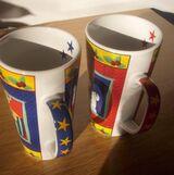 Tassen 2 Stück Weihnachtstassen XXL