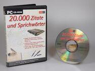 20.000 Zitate und Sprichwörter - CD-ROM - Hamburg Hamburg-Nord