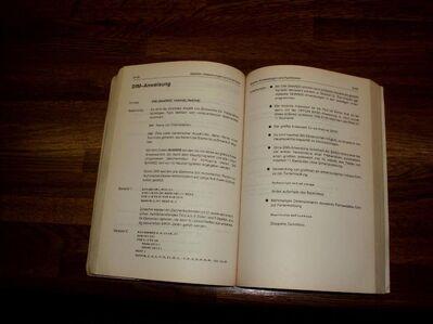 Amiga A2000 A500 Handbuch deutsch Commodore - Berlin