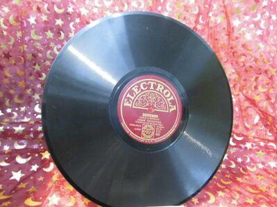 Antike Electrola Schellackplatte, Jesse Crawford / Souvenirs, Just A Memory - Zeuthen
