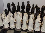 Schach Schachspiel Ritter von Schottland Schachfiguren weiß - Schwarz - Spraitbach