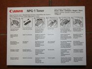 Toner für Canon NP NP 1015 / 1215 / 1218 / 1318 / 1510 / 1520 / 1530 / 1550 / 2010 / 2020 / 6020 / 6116 / 6216 / 6220 / 6317 / 6320 / 6416. - Erding
