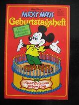 Micky Maus Geburtstagsheft (Jubiläumsausgabe) von 1978