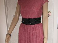"NEU Edles Lace Spitzen Mini Kleid ""H&M"" Gr. 36- 38/ S rosenholz - Riedlingen Zentrum"