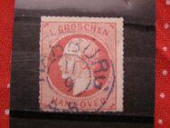 Altdeutschland Hannover 1 Gr.,11.09.1859,Mi.Nr.14,  Lot 313